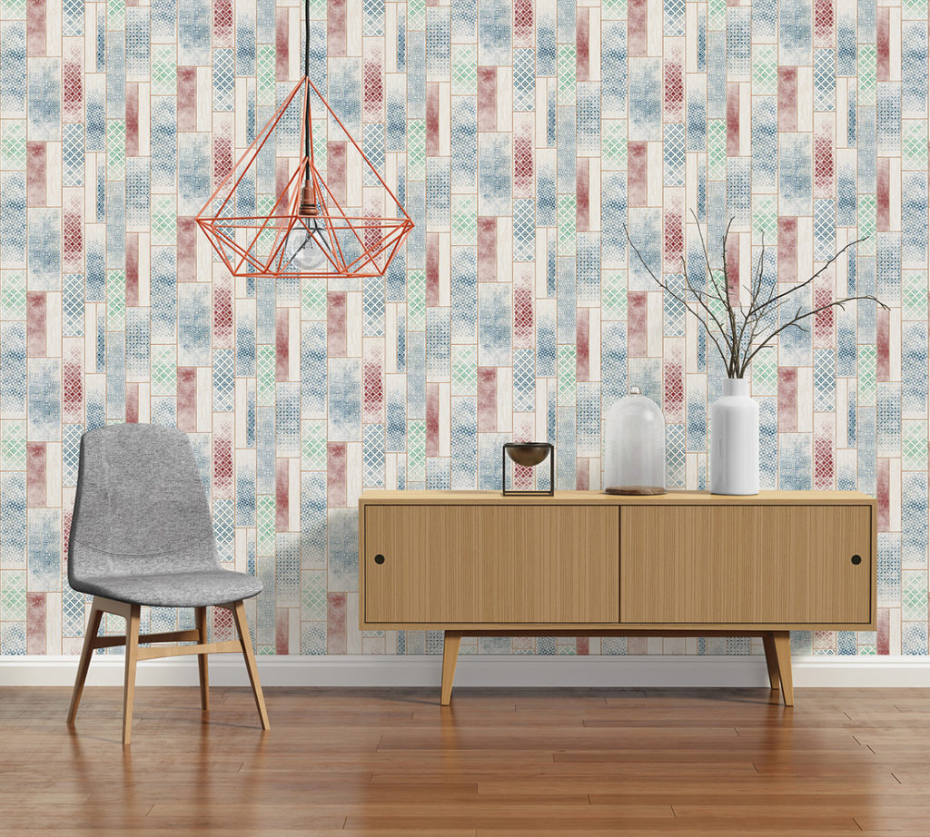 Tribal Motif Wallpaper