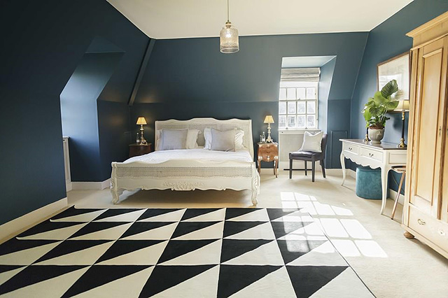 A stylish room at the Salutation