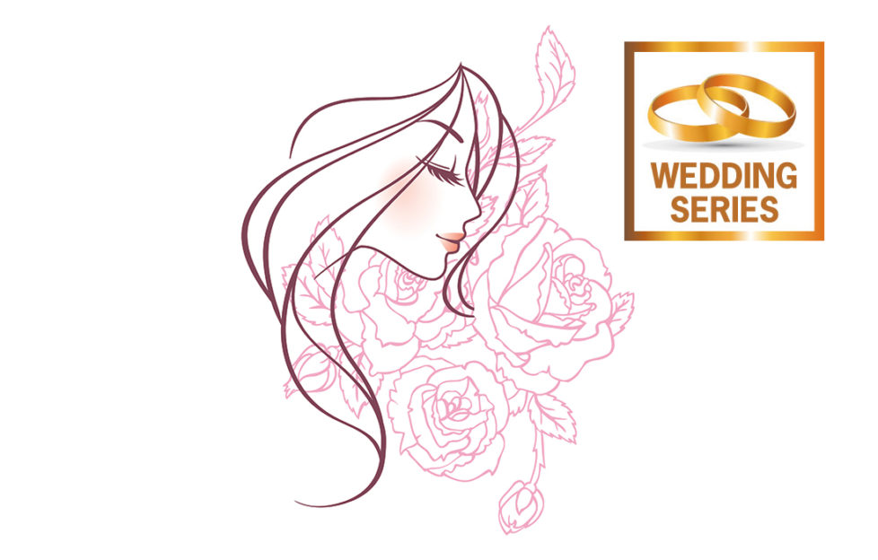 A bride holding a bouquet Illustration: Istockphoto, Rex/Shutterstock