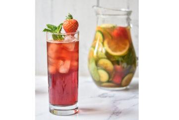 Strawberry Pimm's