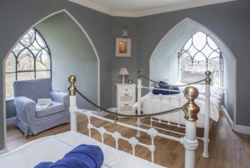 Brynkir Tower Bedroom