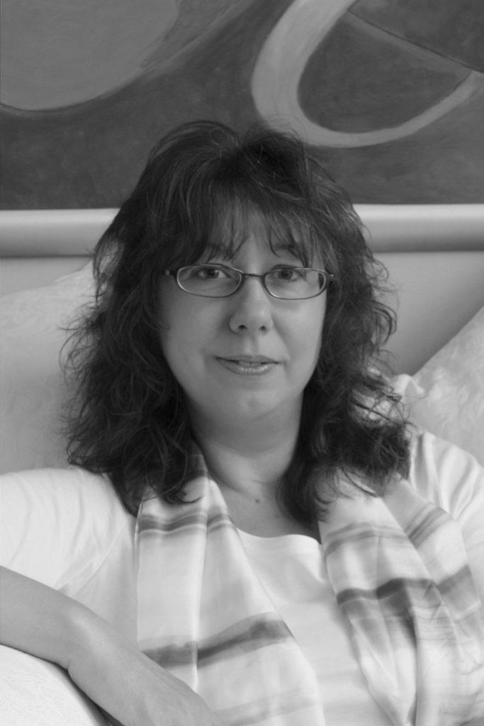 Black and white photograph of Jane Graham