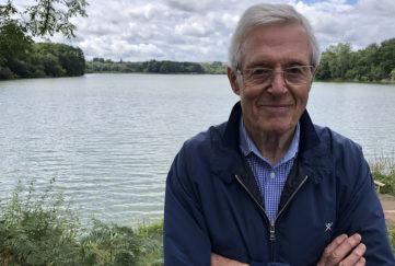 Michael Aspel OBE, patron of the British Evacuee Association