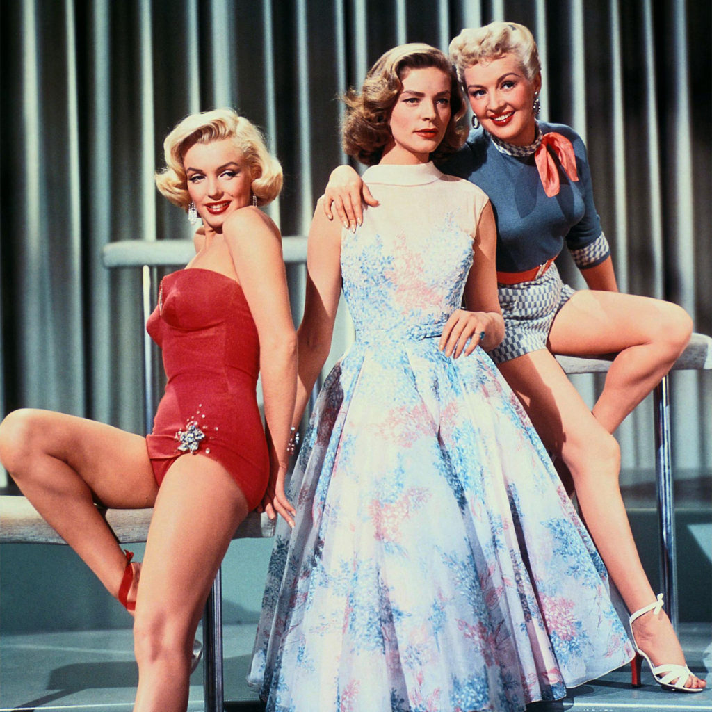 MARILYN MONROE, LAUREN BACALL, BETTY GRABLE, HOW TO MARRY A MILLIONAIRE, 1953
