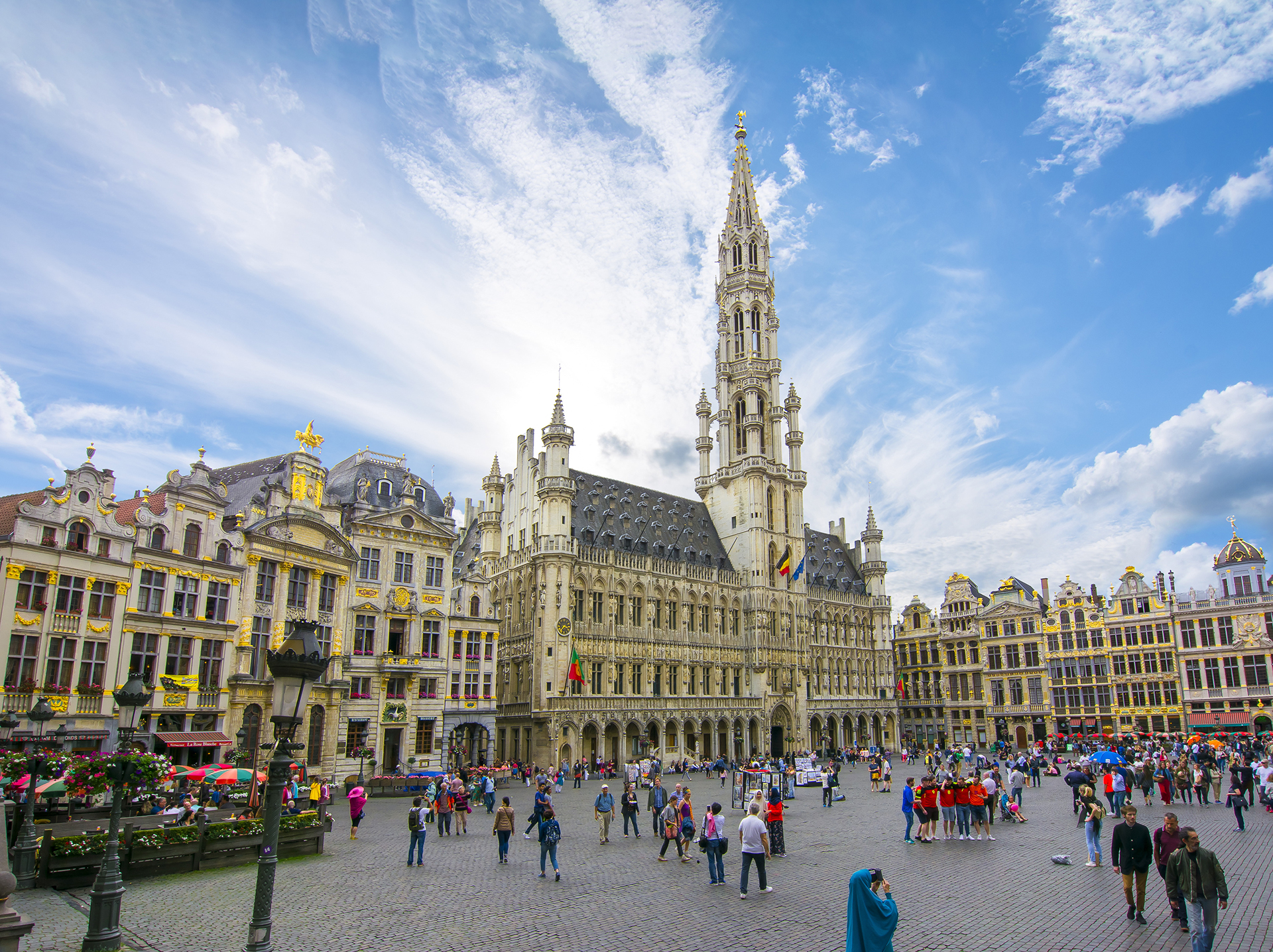 Grand Place square in centre of Brussels, Belgium