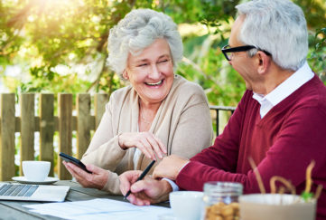 Older couple looking at their finances Pic: Istockphoto