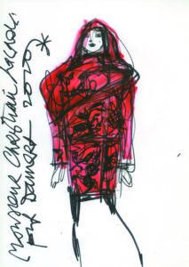 Christian Lacroix sketch