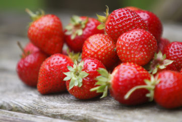 Tumble of Strawberries
