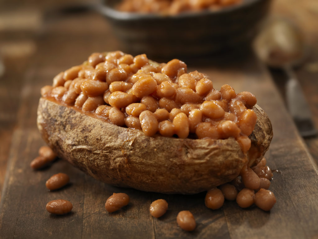 Jacket Potato with Baked Beans