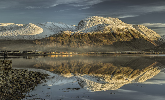 Ben Nevis from Corpach Sea Port Pic: Shutterstock